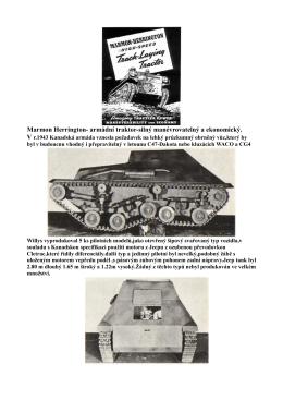 Marmon Herrington- armádní traktor-silný
