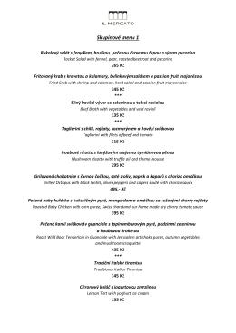Skupinové menu