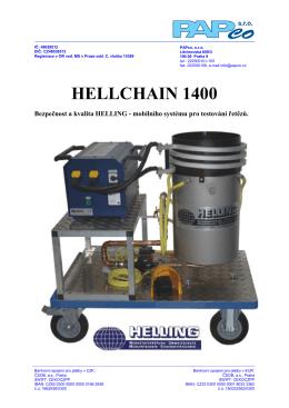 HELLChain - PAPco, sro