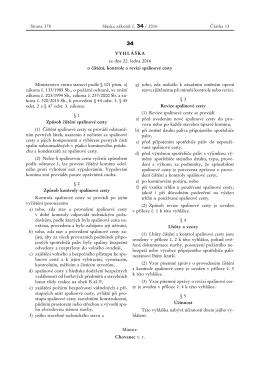 Lhůty čištění a kontrol - vyhláška č. 34/2016 Sb.