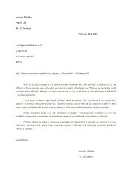 """Propozice na závod """"Cestou pěti potoků 2015"""""""