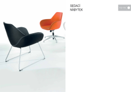 Katalog - sedací nábytek (formát PDF, ceny CZK)