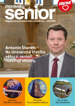 září - Moravský senior