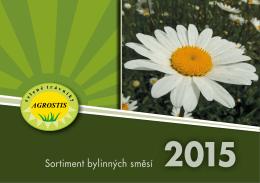 Katalog 2015 - Sortiment bylinných směsí