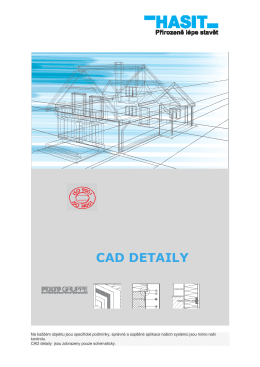 CAD DETAILY