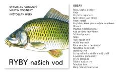 Ryby našich vod