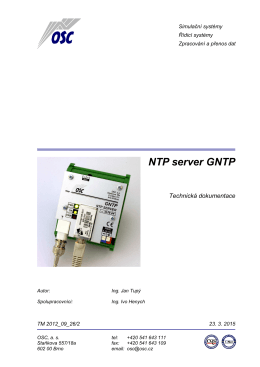 NTP server GNTP