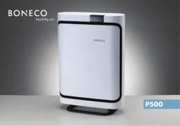 Návod P500 - BONECO CR