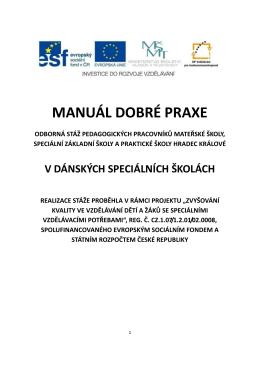 manuál dobré praxe-Dánsko - Speciální školy Hradec Králové