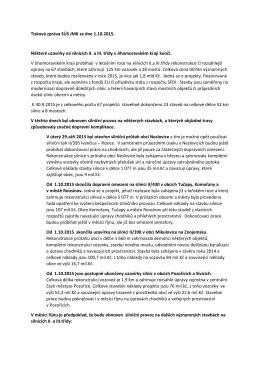 09-2015 Tisková zpráva SÚS JMK