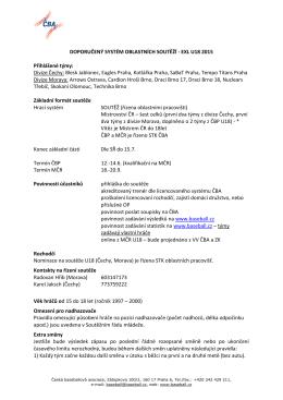 EXL U18 - Česká baseballová asociace