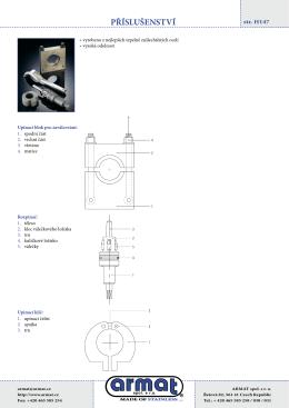 PDF verze - více informací, jednotlivé typy