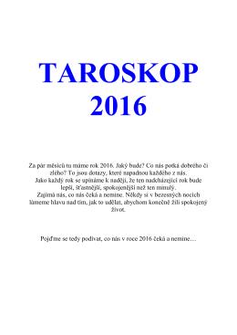 Blanka Magicstar – Taroskop 2016