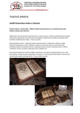 2015 Snědli historickou knihu o Ostravě