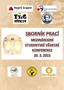Sborník studentských prací Mezinárodní konference 2014-2015