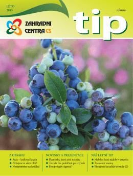 TIP Léto 2015 - Zahradní centra CS, obchodní družstvo