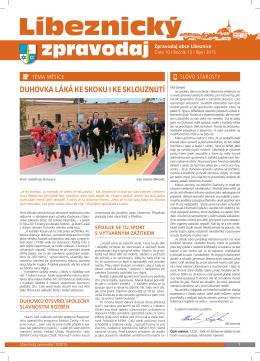 Líbeznický zpravodaj 2015/10