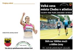 Velká cena města Chebu v atletice