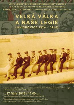 Velká válka a naše legie
