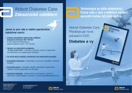 Abbott Diabetes Care Zákaznické oddělení
