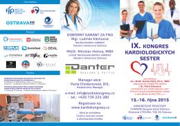 Program kongresu - Česká kardiologická společnost