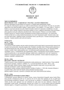 dokument ve formátu pdf - Východočeské muzeum v Pardubicích