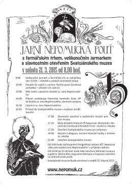 plakat Jarni pout Nepomuk_A2.indd