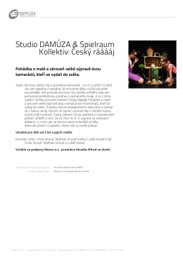 Studio DAMÚZA & Spielraum Kollektiv: Český rááááj