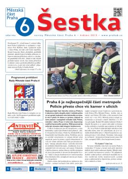 Praha 6 je nejbezpečnější částí metropole Policie přesto chce víc
