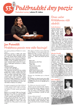 Festivalové noviny 2