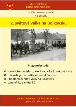 2. světová válka na Bojkovsku