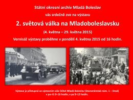 2. světová válka na Mladoboleslavsku