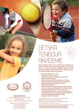 Tenisova akademie - Tenis klub Botanika