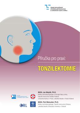 tonzilektomie - Česká společnost otorinolaryngologie a chirurgie