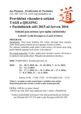 Zobrazit PDF - TAIJI Pardubice