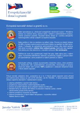 Evropská kancelář dotací a grantů