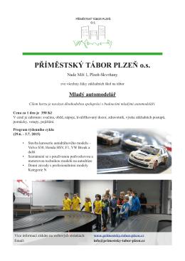 Mladý automodelář - Příměstský tábor Plzeň