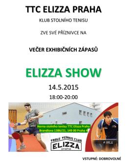 večer exhibičních zápasů elizza show