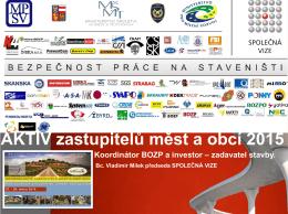 Plán BOZP - Společná vize
