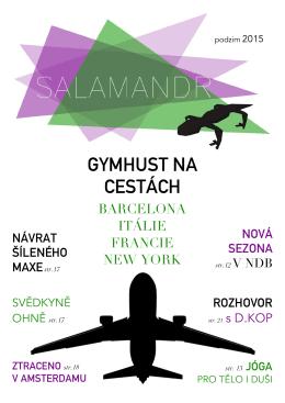 Salamandr - Podzim 2015