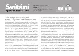 Zpravodaj SVÍTÁNÍ 01-2015 - Středisko sociálních služeb Salvia