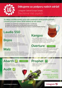 více informací ZDE - Limagrain Central Europe Cereals, sro