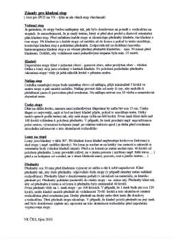 Zasady pro kiadcni stop ( vzor pro IPO3 na VS