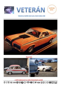 Reportáže a další zajímavosti ze světa historických vozidel