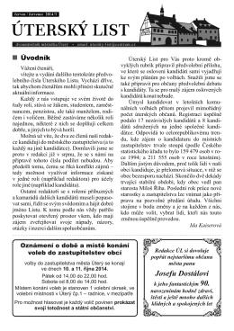 2014/5 - Úterský list