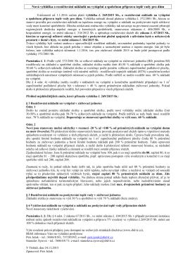 Vyhláška 2692015 informace