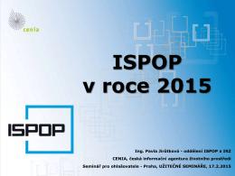 ISPOP v roce 2015 - Užitečné semináře