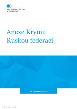 Anexe Krymu Ruskou federací