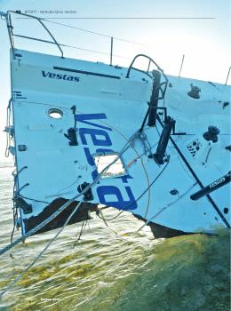 Analýza ztroskotání lodi temau Vestas VOR 2015/16