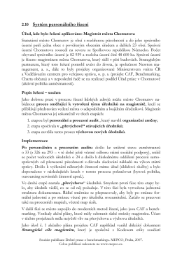 Soucast publikace Dobre praxe z benchmarkingu